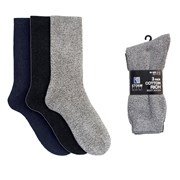 Mens 3 Pack Cotton Rich Boot Socks (SK029)